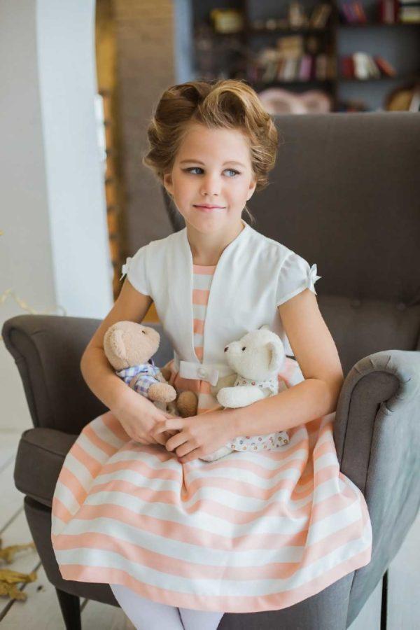 платье +в морском стиле +для девочки Крым