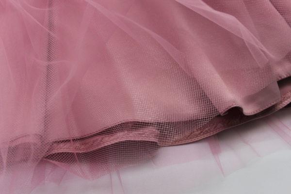 нарядное платье для девочки розовое
