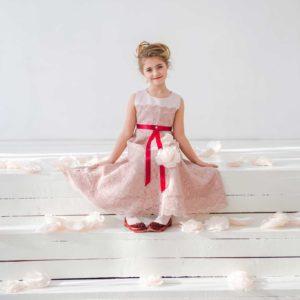 кружевное платье для девочки Кристалл