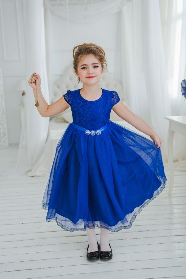 Синее Платье На Выпускной В Детский Сад