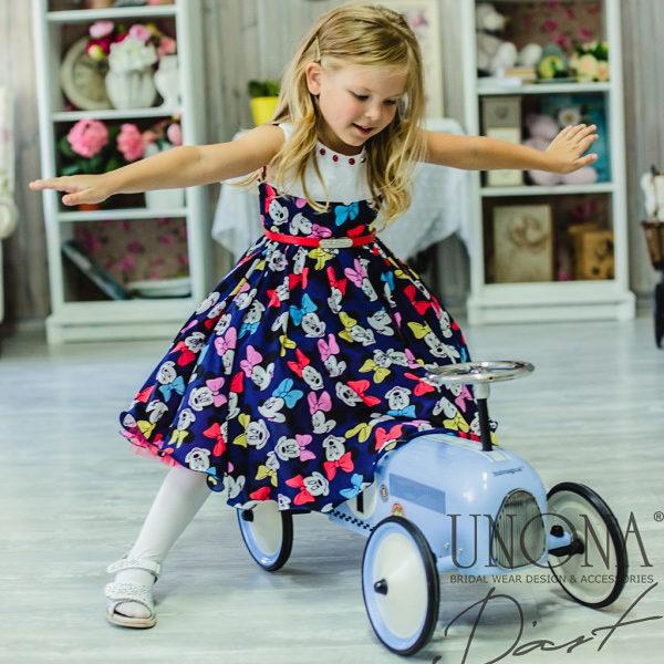 платье минни маус