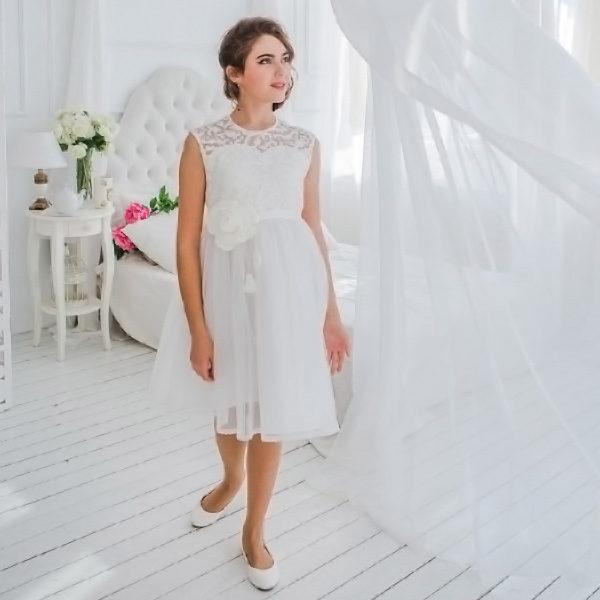 кружевное платье для девушки