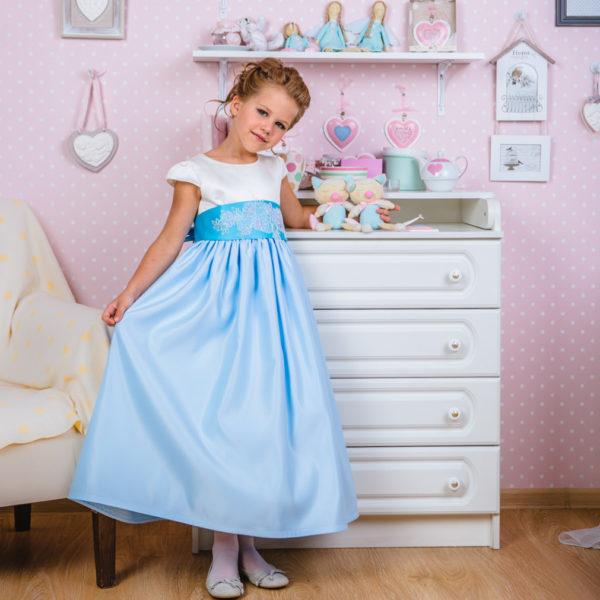 длинное платье для девочки