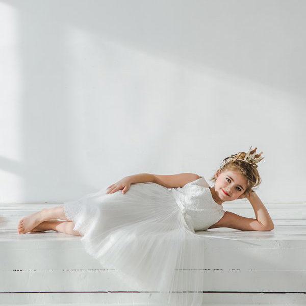 Нарядное платье для девочки Рафаэлло