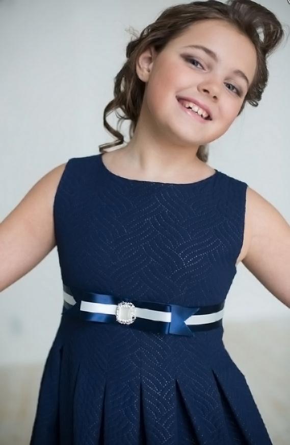 платье для полной девочки