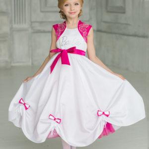 пышное платье для девочки Barbie