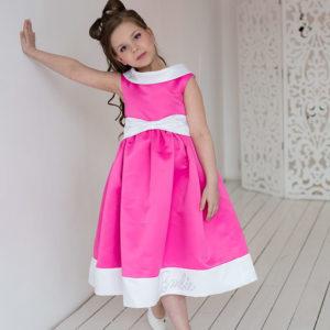 Коктейльное платье для девочки Barbie
