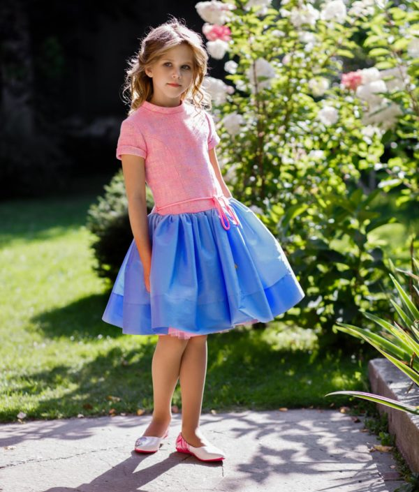 стильное платье для девочки