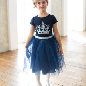 юбка +и футболка для девочки