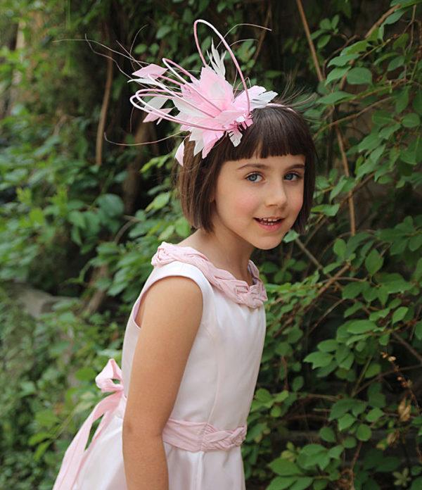 розовое длинное платье +для девочки