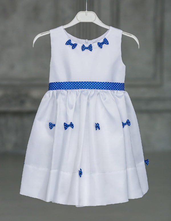 белое платье для маленькой девочки