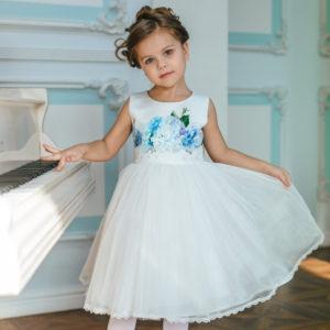 платье для девочки с принтом