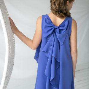 стильное платье для подростка А-силуэт