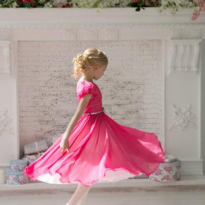 платье из шифона Barbie