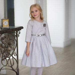 нарядные платья +с длинным рукавом +для девочек
