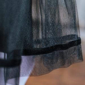 серебряное нарядное платье +для девочки Новый год