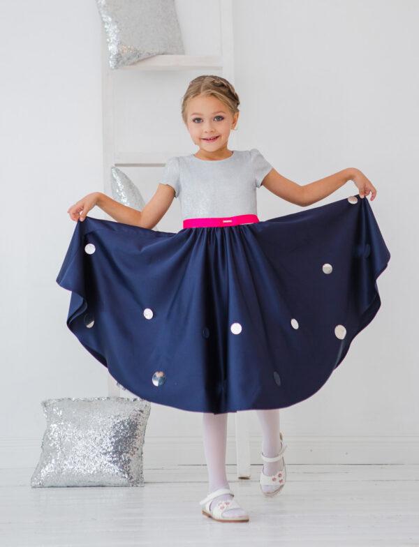 блестящие нарядные платья +для девочек +на новый год
