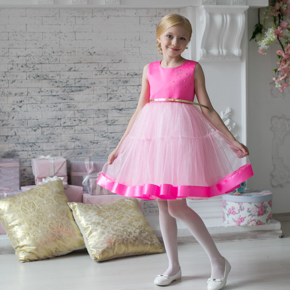 405b8e65e32888 Нарядное платье Barbie™ 7135 — Нарядные платья для девочек интернет ...