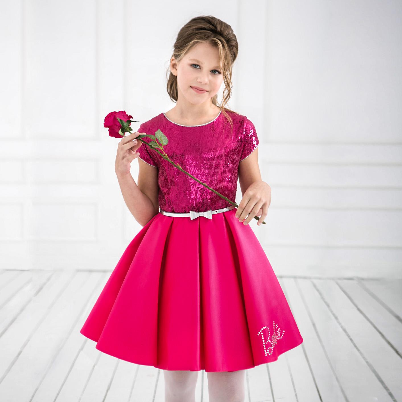 9e2d7e379f97cf Коктейльное платье Barbie™ 7136 — Нарядные платья для девочек ...