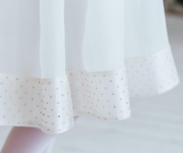 нарядные платья +для девочек 5 6 7 8 лет белые