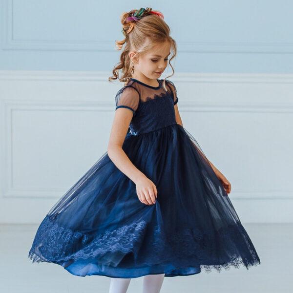 кружевное платье для девочки
