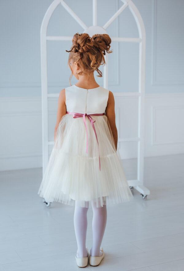 пышное платье для девочки А-силуэта