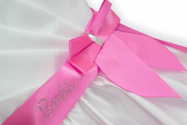 белое бальное платье для девочки