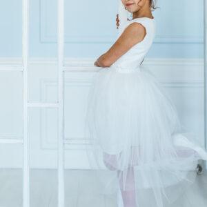 платье-трансформер для девочки белое