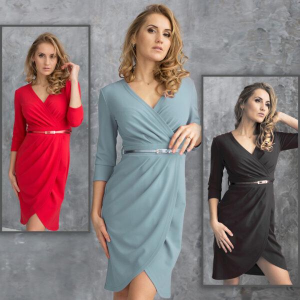 женское трикотажное платье
