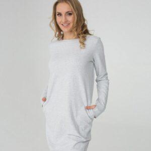 Платье трикотажное женское короткое