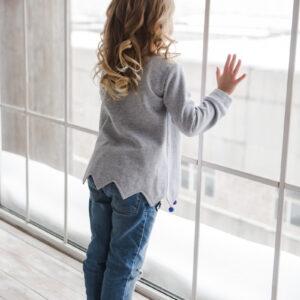 Туника для девочки с длинным рукавом