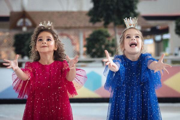 нарядное платье для девочки трикотаж сетка блестки