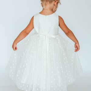 Длинное бальное платье для маленькой девочки