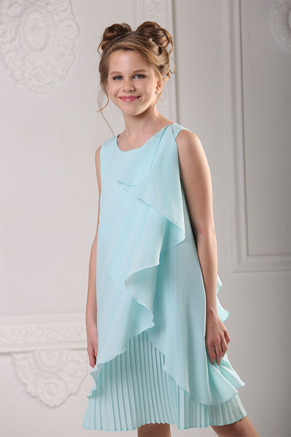 свободное платье для полной девочки подростка